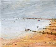 Sale 8401 - Lot 589 - Celia Perceval (1949 - ) - Coastal Scene 39 x 47cm