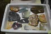 Sale 8398 - Lot 1027 - Box Labelled Cut Geology Specimens