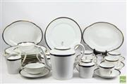 Sale 8516 - Lot 2 - A late C20th Limoges (Haviland) Part Dinner set For Twenty Persons