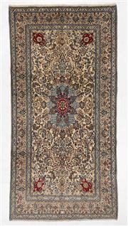Sale 8770C - Lot 42 - A Persian Nain Super Fine Wool Pile, 403 x 200cm