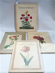Sale 8822B - Lot 811 - 4 Volumes Ariel Press Flower Portraits; Pierre- Joseph Redoute Fruits & Flowers; Pierre-Joseph Redoute Roses; Roses 2; hardcovers