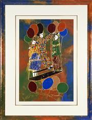 Sale 8838A - Lot 5185 - Artist Unknown - Les Trapezistes 89.5 x 59cm
