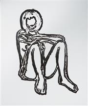 Sale 8976A - Lot 5031 - Tom Wesselmann (1931 - 2004) - Monica Sitting Elbows on Knees (Bam III) 1991 114.5 x 95.5 cm (frame: 118 x 99 x 3 cm)