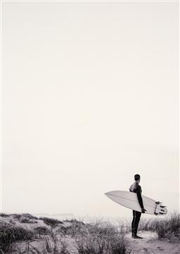 Sale 9252A - Lot 5005 - SURFER giclee 100 x 71 cm (frame: 114 x 85 x 4 cm)