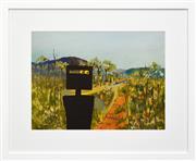 Sale 8301A - Lot 59 - Sidney Nolan (1917 - 1992) - First Class Marksman 46 x 63cm (frame size 75 x 92cm)