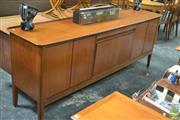 Sale 8338 - Lot 1072 - Quality Danish Teak Sideboard