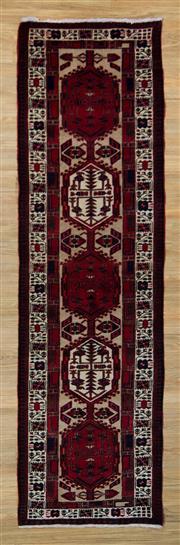 Sale 8566C - Lot 11 - Persian Abada Runner 318cm x 90cm