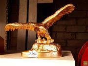 Sale 8582 - Lot 2384 - Golden Metal Eagle