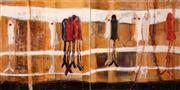Sale 8624 - Lot 515 - Alison Coulthurst - Morning Rush 76 x 152cm