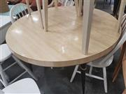 Sale 8661 - Lot 1079 - Art Deco Veneered Kitchen Table