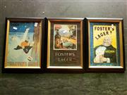 Sale 8671 - Lot 2062 - Set of 3 Framed Reproduction Advert Prints -