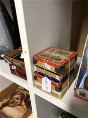 Sale 8789 - Lot 2382 - 4 Boxes of Glass Slides Country Life etc
