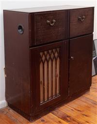Sale 8934H - Lot 99 - A Kenwood vintage radiogram, Height 1m x Width 91cm x Depth 40cm
