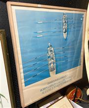 Sale 9058 - Lot 2058 - James Willebrant, Exhibition poster, frame: 93 x 92 cm