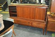 Sale 8338 - Lot 1014 - Danish Rosewood Poul Hundevad Sideboard