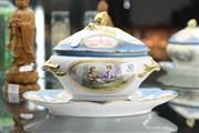 Sale 8348 - Lot 30 - Sevres Style Paris Porcelain Sauce Tureen