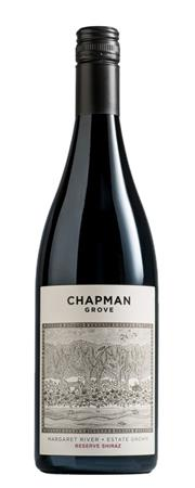 Sale 8528W - Lot 15 - 12x 2014 Chapman Grove Reserve Shiraz. 92 Points – James Halliday Wine Companion  Deep intense red colour with pretty perfumed nose ...