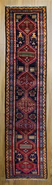 Sale 8566C - Lot 12 - Persian Hamadan Runner 310cm x 71cm