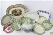 Sale 8599 - Lot 62 - Ceramic Bowls Plates And Trays Incl Worcester, Doulton, Wedgwood
