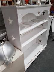 Sale 8912 - Lot 1089 - White Open Bookshelf
