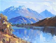 Sale 9038 - Lot 563 - Peter Beadle (1933 - ) - Lake Hayes, Autumn, Queenstown NZ 1972 29 x 39 cm (frame: 41 x 51 x 5 cm)