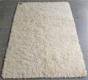 Sale 9071 - Lot 1059 - Flokati Rug in White (200 x 150cm)