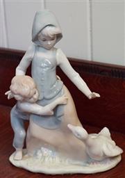 Sale 8320 - Lot 808 - 1960s Bonn figure of children