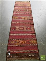 Sale 8469 - Lot 1059 - Persian Kilim Runner (250 x 75cm)
