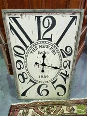 Sale 8545 - Lot 1073 - Large Reproduction Wall Clock