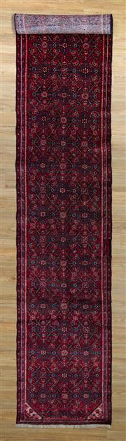 Sale 8566C - Lot 13 - Persian Husinabad Runner 490cm x 86cm