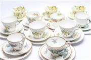 Sale 8706 - Lot 93 - Collection of Cups and Saucers