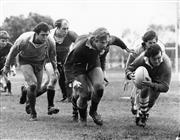 Sale 8754A - Lot 60 - Members of NSW Rugby Union Training, Sydney Sports Ground, 1978 - 20 x 25cm