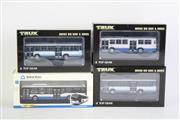 Sale 8827T - Lot 692 - Trux 1:76 Scale Replica Aussie Big Rigs & Buses (3) with a Sydney Buses 438 Replica