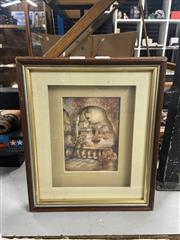 Sale 8981 - Lot 2082 - Three Dimensional Work Depicting an Italian Country Scene (Frame: 30 x 25cm)