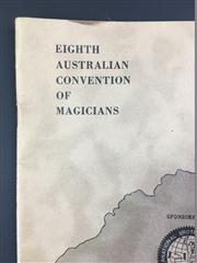 Sale 8539M - Lot 65 - The International Brotherhood of Magicians, Eighth Australian Convention, June 1962