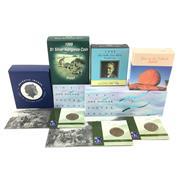 Sale 8618 - Lot 67 - Royal Australia Mint $1 Silver Proof Coins (21) with Howard Florey Collectors Set
