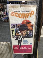 Sale 8750 - Lot 2079 - Code Name for a Killer: Scorpio Poster