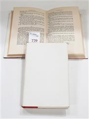 Sale 8822B - Lot 770 - 2 Volumes of Lindsay, Norman Redheap, signed, pub. Ure Smith, pub. Australia 1959 with dust covers