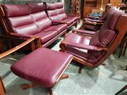 Sale 8930 - Lot 1078 - Tessa T8 Lounge Suite incl. Pair of Two Seaters, Armchairs and Footstools (6)