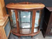 Sale 8934 - Lot 1012 - Art Deco Mirrored Back Display Cabinet