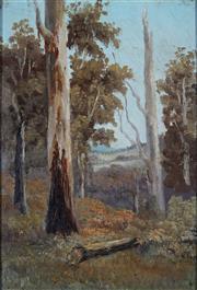 Sale 8976A - Lot 5022 - John Mather (1848 - 1916) - Landscape 26 x 18 cm (frame: 31 x 23 x 4 cm)