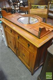 Sale 8284 - Lot 1086 - Edwardian Mirror Back Sideboard