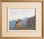 Sale 8375A - Lot 29 - Raymond de Cusack - Orphan Rock, Katoomba 1982 19 x 24 cm