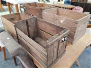 Sale 8672 - Lot 1076 - Collection of Four Timber Boxes