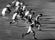 Sale 8754A - Lot 62 - Sydney University Team Training, 1993 - Team sprint before a match 22 x 31cm