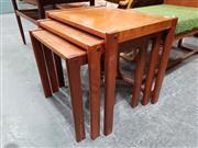 Sale 8908 - Lot 1035 - Furbo Danish Teak Nest of Three Tables