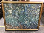 Sale 9024 - Lot 2072 - A Vincent Van Gough reproduction print, 87.5 x 110