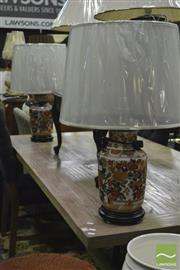 Sale 8347 - Lot 1022 - Pair of Viennese Lamps (3473)