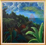 Sale 8408 - Lot 556 - Heinz Steinmann (1943 - ) - After the Rain - Port Douglas, 1990 180 x 180cm