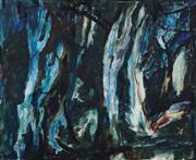 Sale 8821A - Lot 5087 - Viola Bromley OAM (1915 - 1990) - Nocturne, 1961 53.5 x 66cm